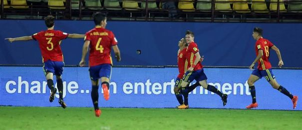 2-1. España tumba a Francia con autoridad y buen fútbol