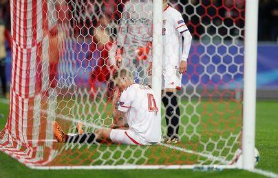 Sevilla encajó en Moscú la segunda derrota más abultada de su historia europea
