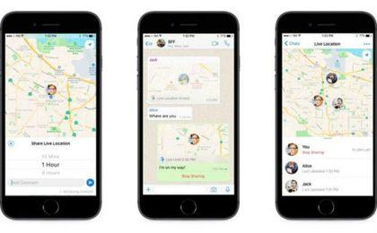 WhatsApp permitirá a tus contactos conocer tu ubicación en tiempo real