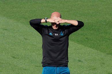 Zidane empieza a preparar la visita del Eibar sin Keylor ni Varane