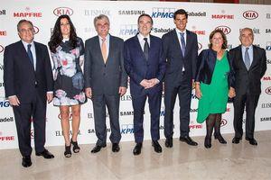 Rafa Nadal, Florentino Pérez y la familia de Ignacio Echeverría; premiados