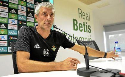 Setién habla sobre Redru, Rubén Castro, la competencia arriba o los goles encajados