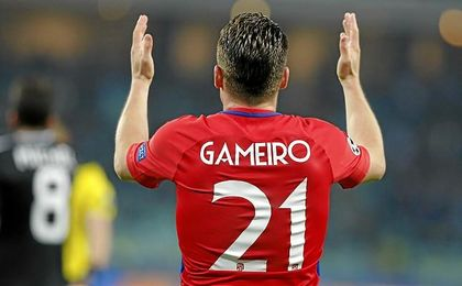 Gameiro está muy discutido en el Atlético.
