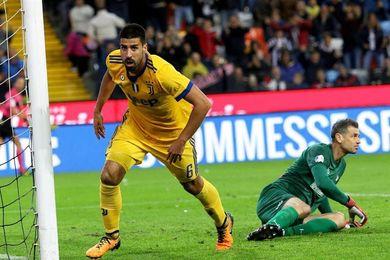 El Juventus golea 2-6 al Udinese con triplete del exmadridista Khedira