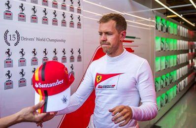 """Vettel: """"Sólo pude dar una vuelta, pero el coche es rápido"""""""