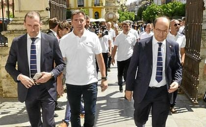 Arias y Castro han depositado su confianza, con matices, en el ´Toto´ ante la actual crisis.