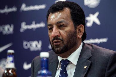 Al-Thani se queja a la RFEF por los errores arbitrales