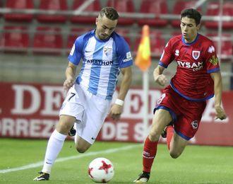 2-1. El Numancia deja k.o. al Málaga en el tiempo añadido