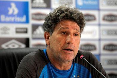 """Renato Gaúcho: """"Gremio apelará a su experiencia para contrarrestar la presión"""""""