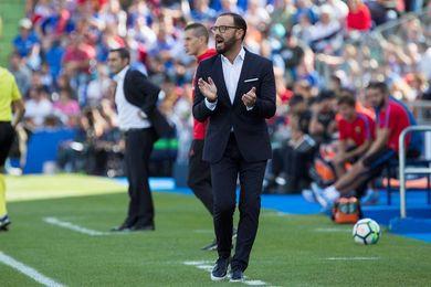 """Bordalás: """"El partido con la Real es importantísimo, pero no decisivo"""""""