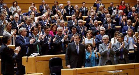 El Senado aprueba la aplicación del 155 en Cataluña