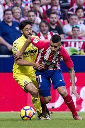 Atlético de Madrid y Villarreal empatan a cero al descanso