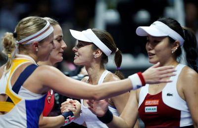 Hingis se retira del tenis con una derrota en la semifinal de dobles de Singapur