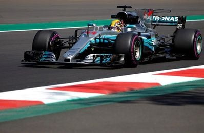 """Lewis Hamilton: """"En general ha sido un buen día"""""""