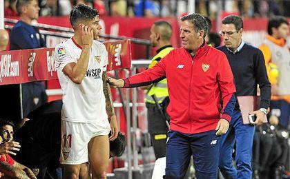 Berizzo apostó por un Sevilla más compacto.