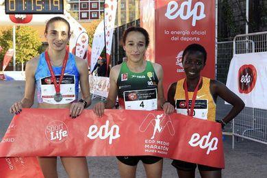 La marroquí Boulaid gana el Medio Maratón de la Mujer en Madrid