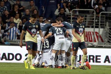 El Monterrey vence al América y confirma su liderato en el torneo Apertura de fútbol en México