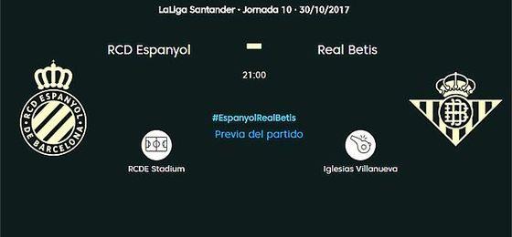 Espanyol-Betis, en directo