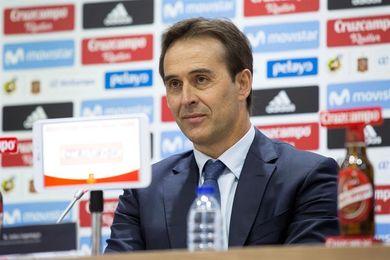 """Lopetegui anuncia varios cambios en una lista que será """"la base"""" para el Mundial"""