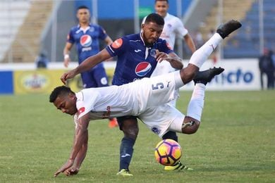 Motagua empata el clásico con Olimpia en Honduras y es escoltado por Marathón