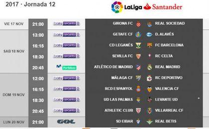 El Sevilla-Celta, el sábado 18 a las 18:30 horas