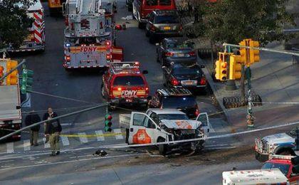 Al menos ocho muertos por atropello en Manhattan, investigado como terrorismo