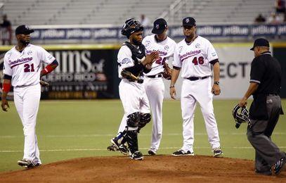 Gigantes vencen Tigres y empatan en la cima del béisbol dominicano