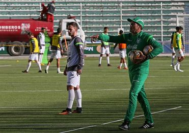 Lampe y Miranda encabezan lista de Bolivia para amistoso ante Curazao