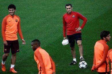 Sergi Roberto y André Gomes, un mes de baja por lesión