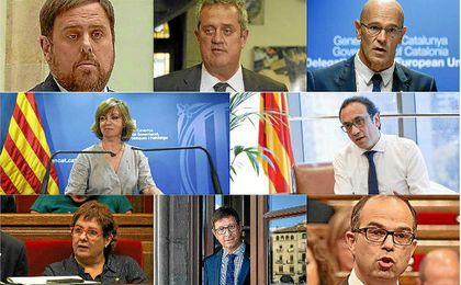 Los exconsejeros del Govern de Cataluña que ingresarán en prisión