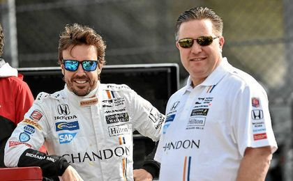 """Brown, sobre Alonso: """"Hemos creado a un monstruo de las carreras"""""""