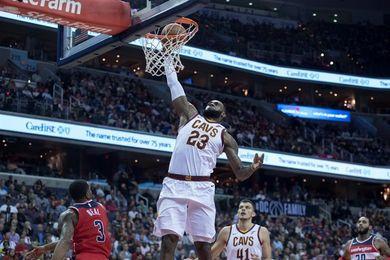 122-130. James brilla con 57 puntos en el triunfo de los Cavaliers