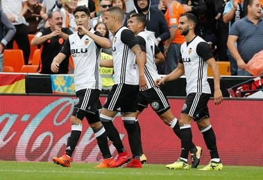 3-0. El Valencia mantiene su fortaleza y el Leganés da un paso atrás