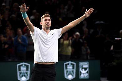 Krajinovic cuenta su calvario con las lesiones y su amistad con Djokovic