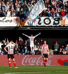 Aspas marca su gol 100 con el Celta ante el Athletic