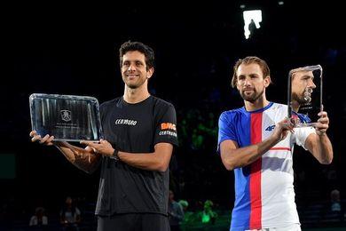 El brasileño Melo y el polaco Kubot ganan en París al dúo Granollers-Dodig