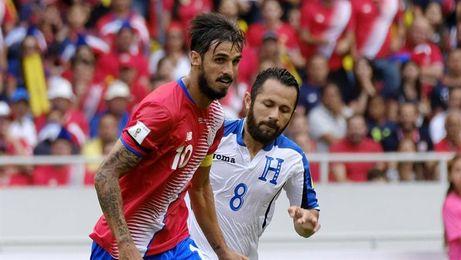 Costa Rica pierde al capitán Bryan Ruiz para el amistoso frente a España