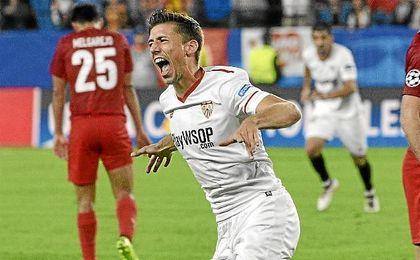 Lenglet ha anotado dos goles en los 16 partidos que ha jugado (Spartak y Espanyol).