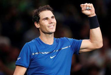 Nadal se mantiene primero y aumenta su ventaja sobre Federer en 180 puntos