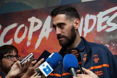 Sastre: Es un orgullo ir convocado con España pero hay que jugar con Valencia