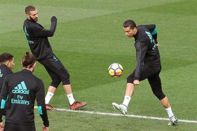 El Madrid regresa a los entrenamientos con la BBC y sin 13 internacionales
