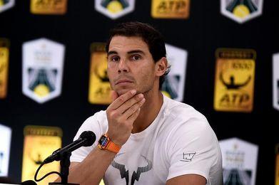 """Nadal: """"La rodilla me molesta, pero espero manejar el problema y competir"""""""