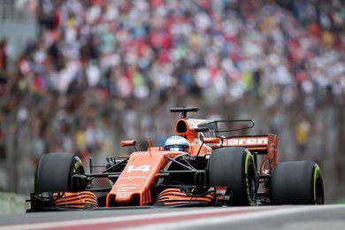 """Alonso, """"muy contento"""" con la crono"""