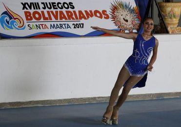 Chile, Colombia y Ecuador dominan en el inicio del patinaje artístico de los Bolivarianos