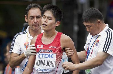 Kawauchi y Cheyech ganan el maratón de Saitama