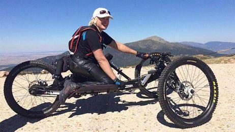 Gema Hassen-Bey supera los 3.000 metros de la cumbre del Teide