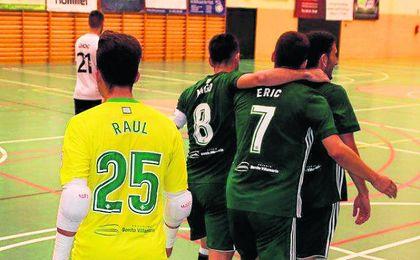 Rivas Futsal 2-2 Betis. Valioso empate del conjunto verdiblanco