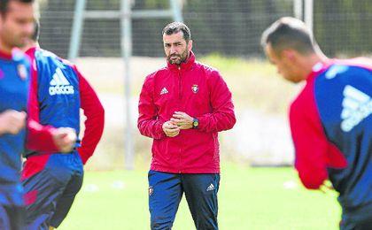 Diego Martínez tiene a Osasuna en puestos de ascenso directo.