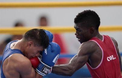 Yuberjen Martínez gana fácil en primera ronda al ecuatoriano Carlos Quipo