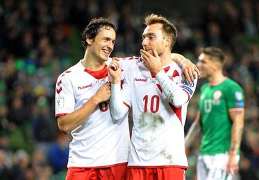 """El """"rey"""" Christian lleva a Dinamarca al Mundial con una actuación estelar"""